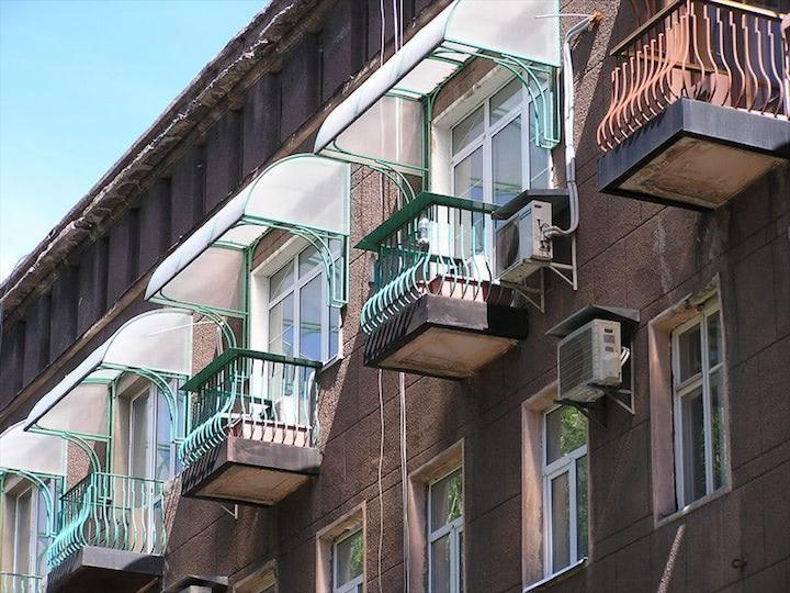 Балкон из поликарбоната - статьи полиглас.